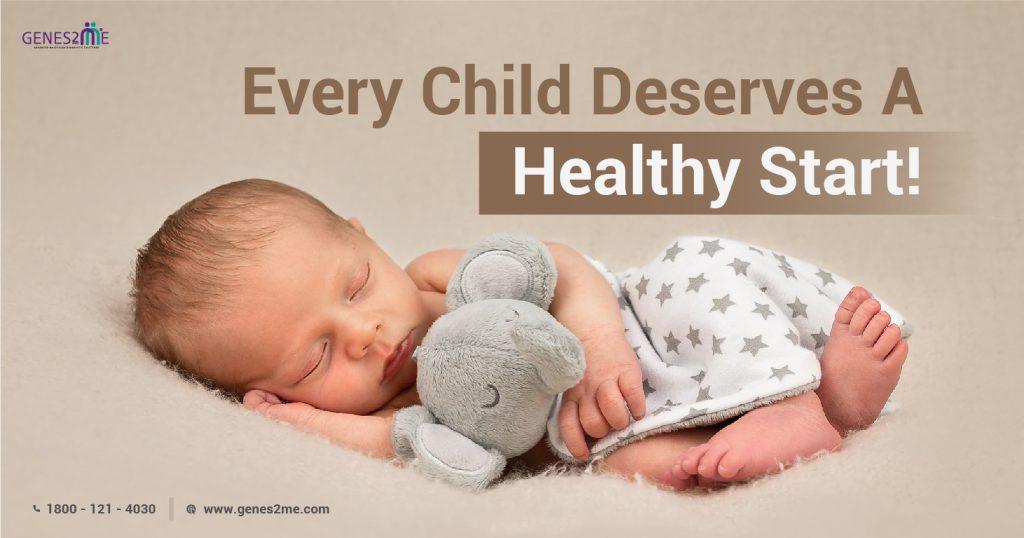 New born baby; genetic test; prenatal testing; newborn screening; postnatal testing; genetic disorder; pregnant