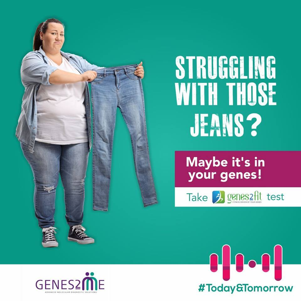 Genetic testing; preventive health; exercise; Fitness; predisposition; overweight