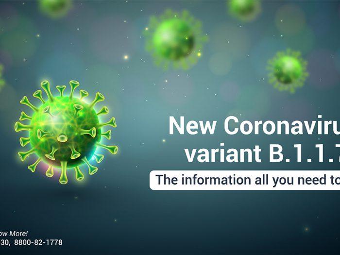 Coronavirus Awareness B.1.1.7