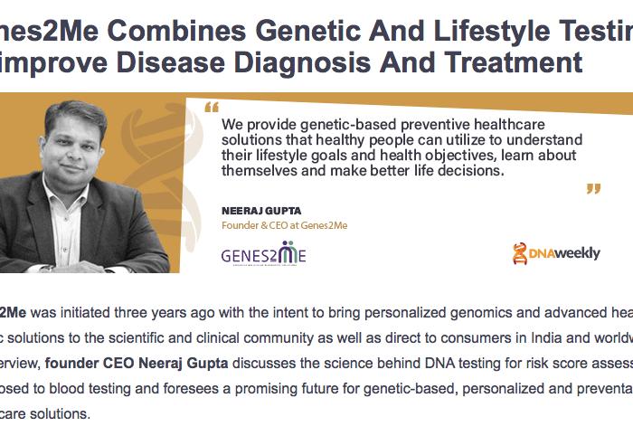 Genetic Diagnostic Center - Genes2Me